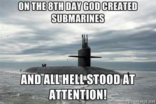 The US Navy nuclear submarine, the most feared ship in the sea.