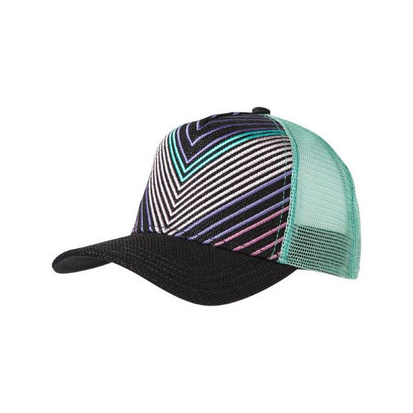 Women's Prana Delilah Trucker Hat - Black ($36) ❤ liked on Polyvore featuring accessories, hats, black, snapback cap, adjustable snapback hats, truck caps, trucker hat and embroidered trucker hats