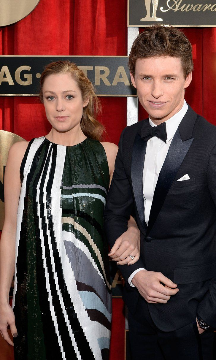 Eddie Redmayne's Pregnant Wife Debuts Her Baby Bump on the Red Carpet