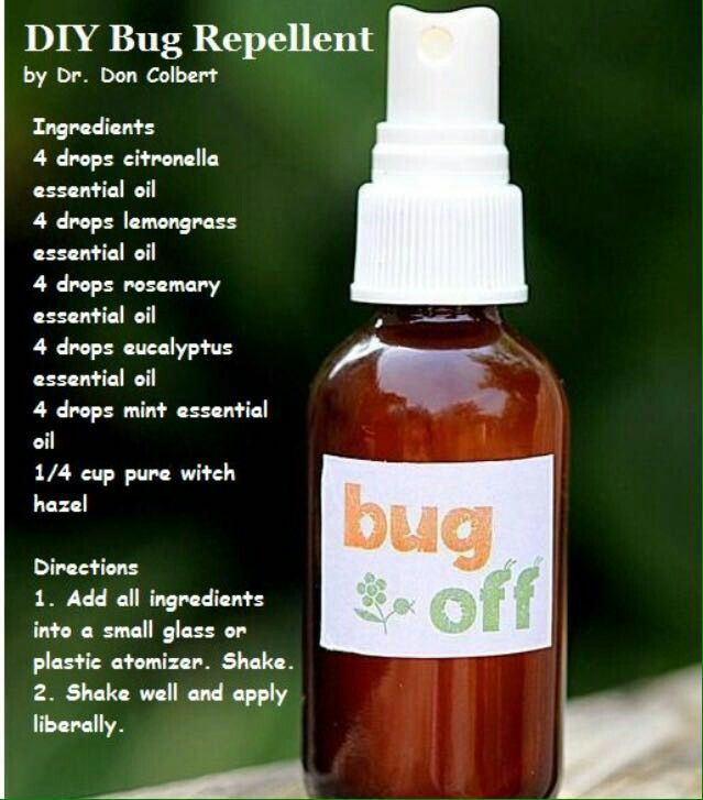 Best Natural Mosquito Repellent Diy