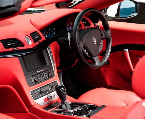 Maserati Gran Cabrio Interior Luxury Cars Red