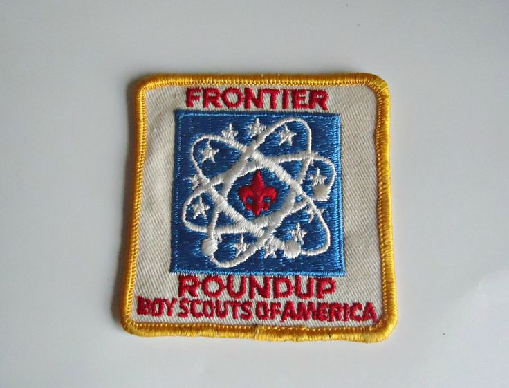 Vintage Boy Scouts Patch Copper Country Klondike Embroidered Badge 1970's by treasurecoveally on Etsy