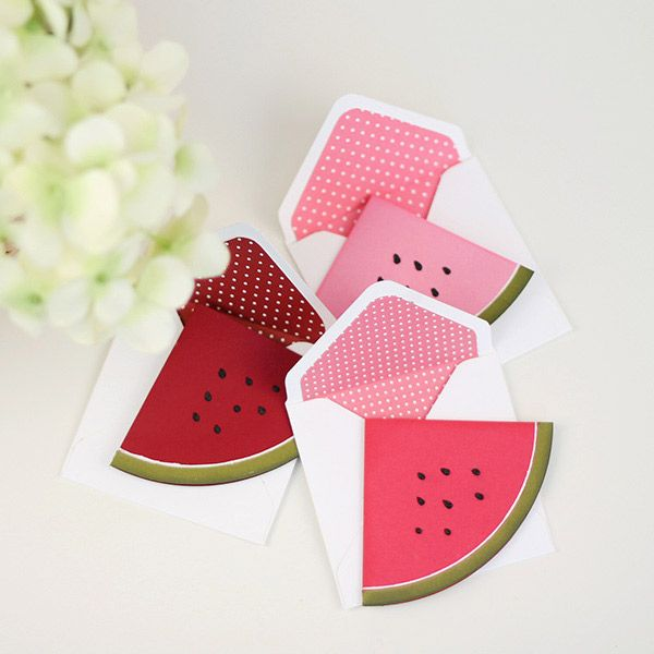 DIY Watermelon Cards