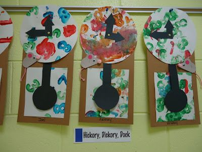 Hickory Dickory Dock Trinity Preschool MP: Learning colors and shapes through nursery rhymes and songs in preschool
