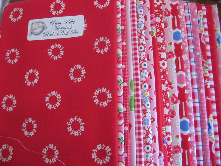 Need!: Red And Pink, Fabulous Fabrics, Favorite Fabrics, Beautiful Fabrics, Nice Fabrics, Fab Fabrics, Lakeh Fabrics, Fabrics Pamkittymorn, Fabrics Sweet