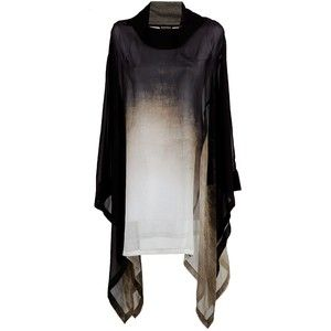 Black silk dress from Ann Demeulemeester