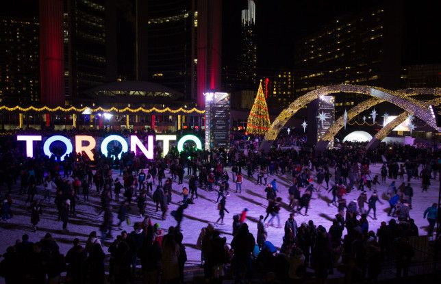 9 Things To Do In Toronto This Winter. Toronto is incredible at any time of year, but it brings a special kind of magic come winter. Here are 9 fun ways to spend the season. #holidays #Canada