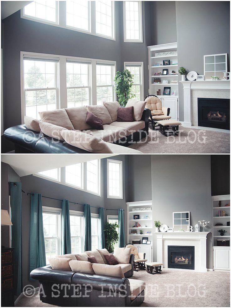 25+ melhores ideias de White Curtain Rod que são tendência no ...