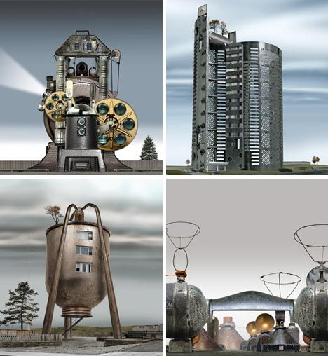 35 Best Cool Steampunk Architecture Images On Pinterest