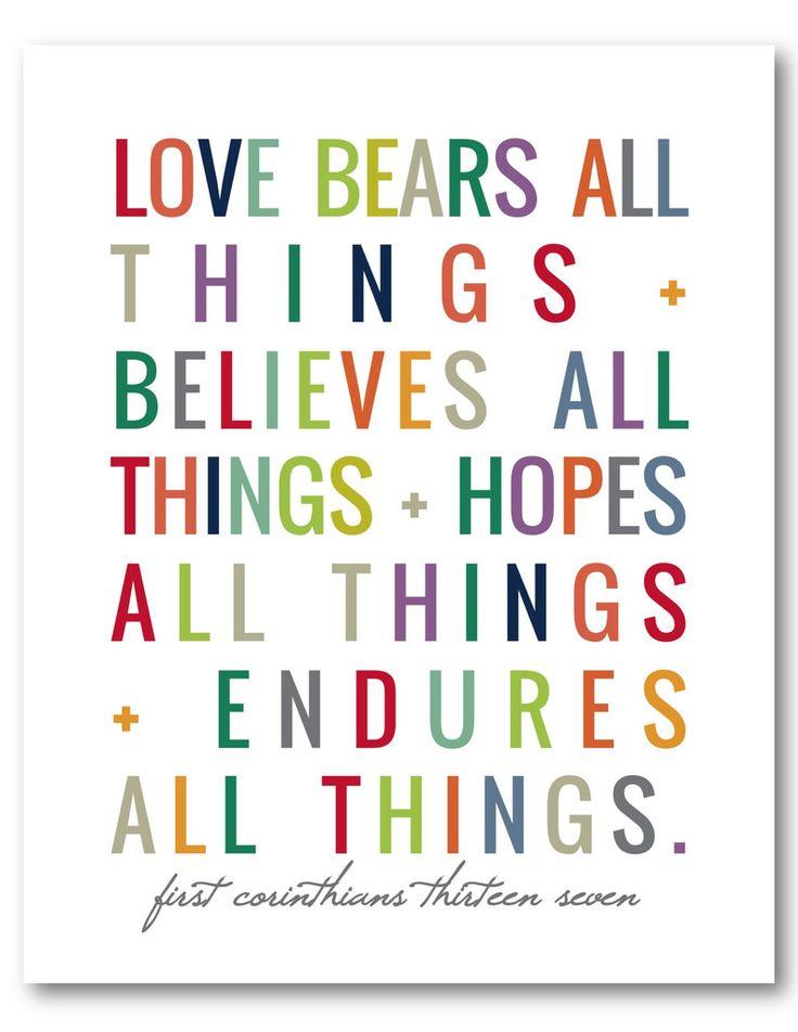 1 Corinthians 13:7 (Naptime Diaries Print)