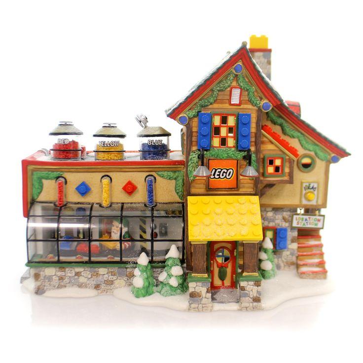 34 best dept 56 images on pinterest christmas villages department 56 and c - Lego construction maison ...