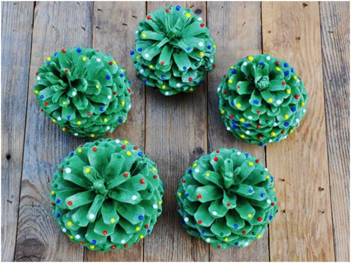What to make with pine cones – 64 Ideas with photos – DIY