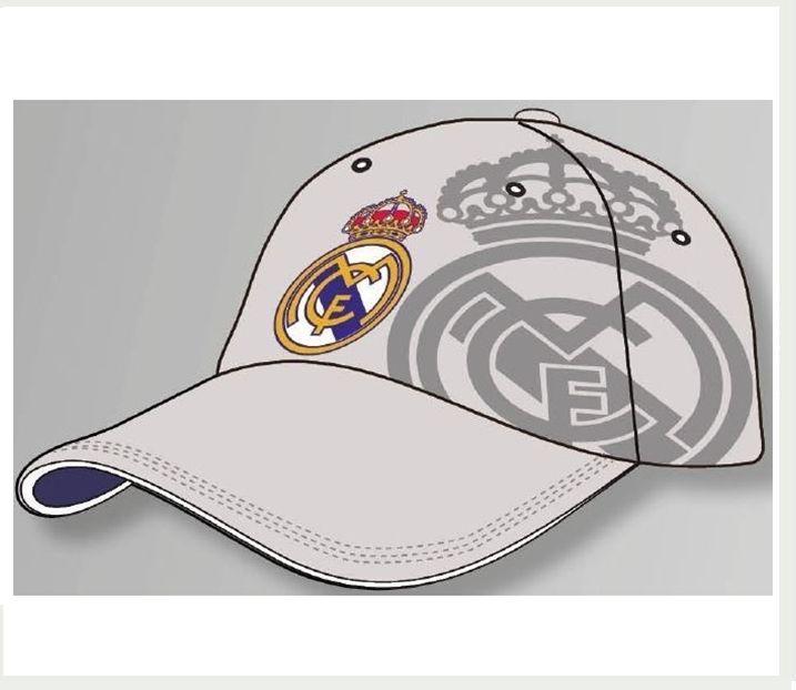GORRA REAL MADRID GRIS ESCUDO Este artículo lo encontrará en nuestra tienda  on line de complementos www.worldmagic.es info 951381126 Para lo que  necesites a ... 4f82e49313876