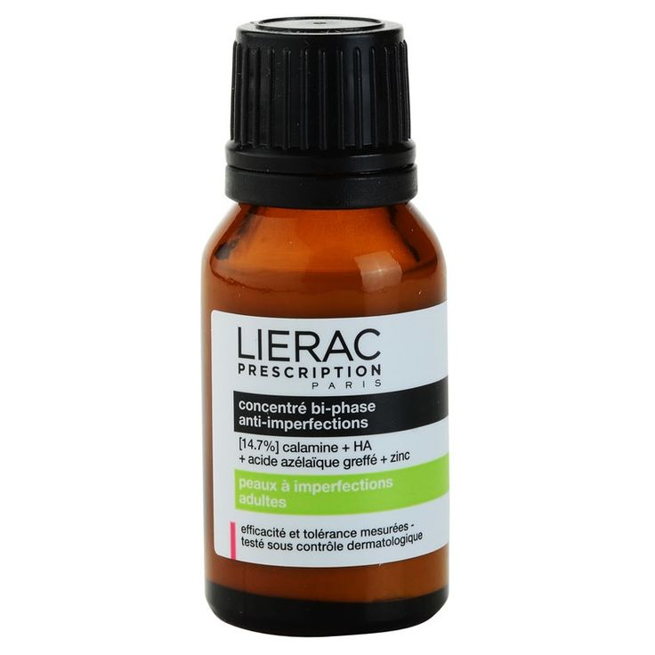 Lierac Prescription Lokalpflege für problematische Haut, Akne (Anti-blemish Dual-phase Concentrate) 15 ml