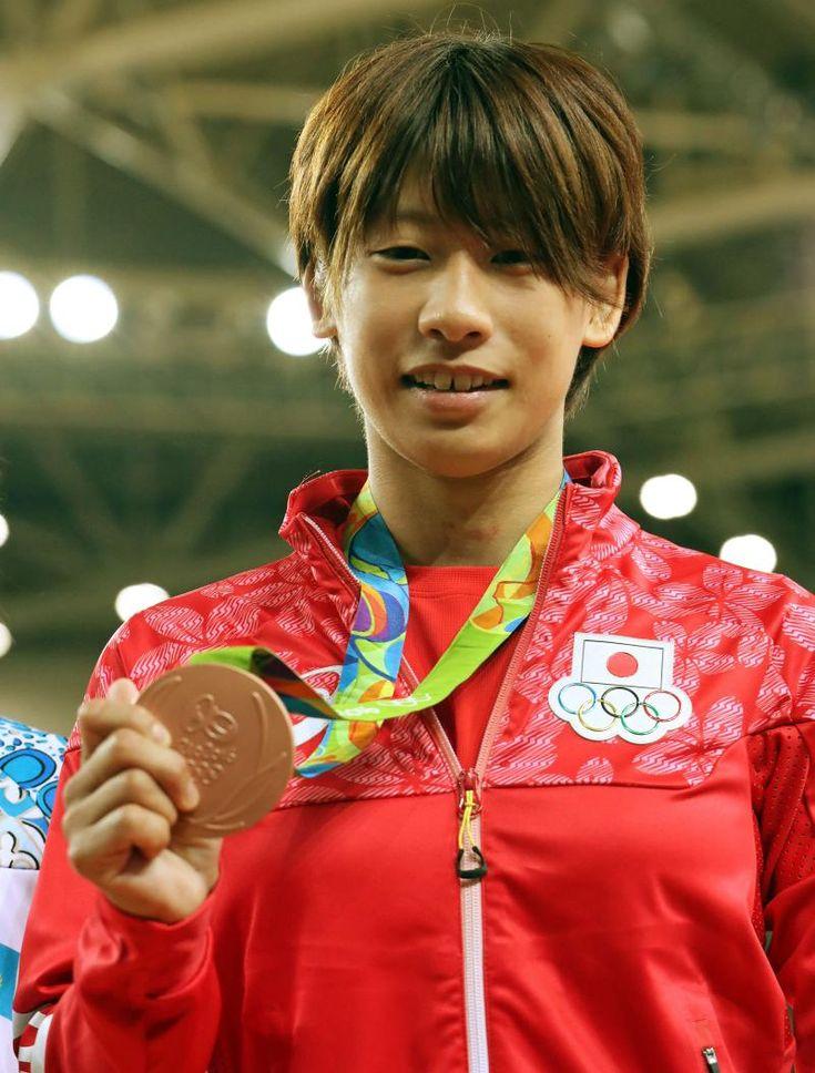 8月6日 柔道 女子48kg級 3位決定戦 よかったーー、近藤選手試合終了ギリギリで有効取れて銅メダル‼︎ おめでとう! ---Miki