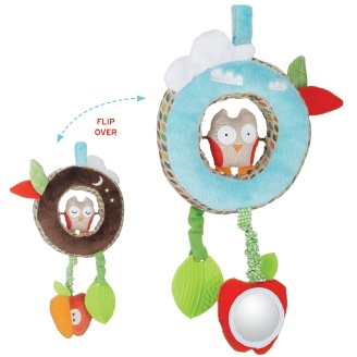 Skip Hop: Treetop Friends Night & Day Discovery Toy