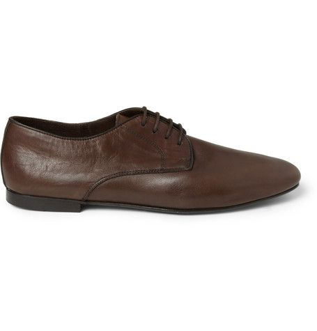 Christophe Lemaire Leather Derby Shoes | MR PORTER