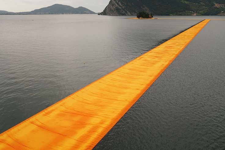Yatzer Feature: Walking on the Water with Christo and Jean-Claude's 'Floating Piers' in Italy - by KIRIAKOS SPIROUART on @Yatzer - 19 JUNE 2016