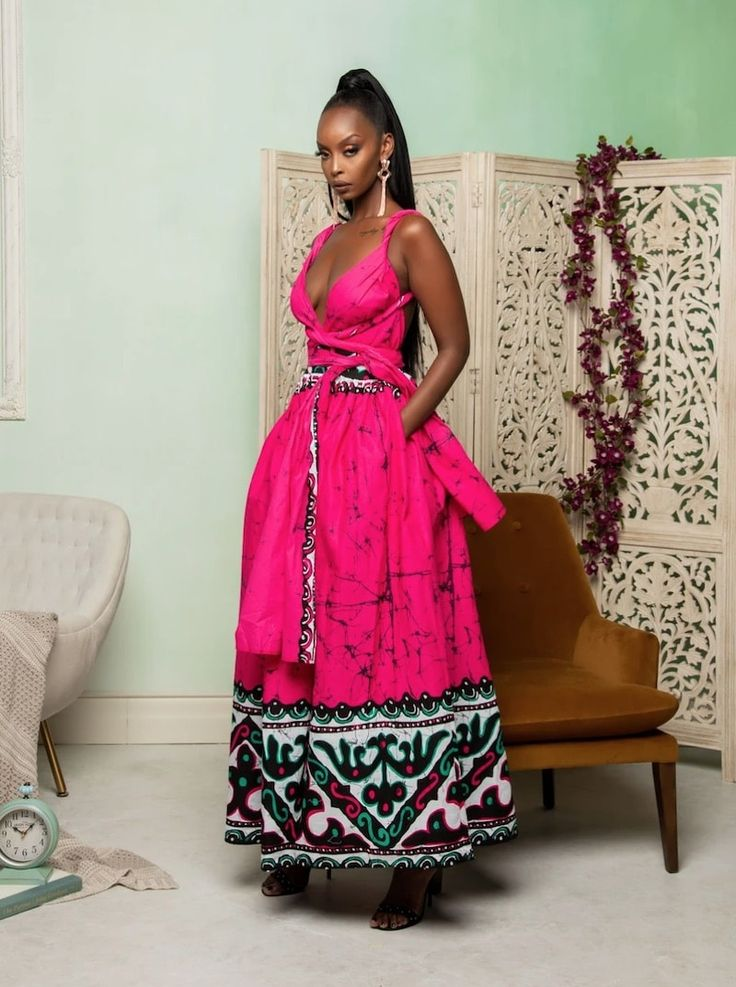 45+ Fashionable African Dresses of 2020 Ankara Dresses of
