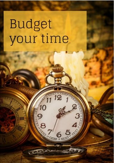 Tips on budgeting your time to help you survive your business start-up