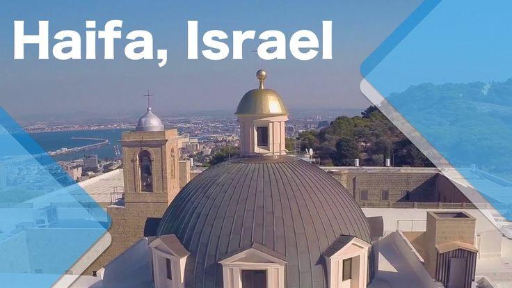 Haifa, Israel (quadcopter video)