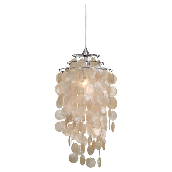 Laura Ashley Daliya Capiz Pendant with Natural Capiz Shells - in. - Laura  Ashley is one of the best-loved