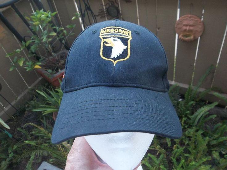 Nice U.S. Army Airborne Hat Size Small Medium Screaming Eagles Cap S/M