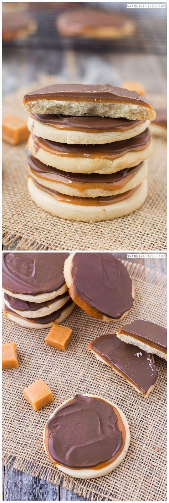 Caramel Twix Cookies