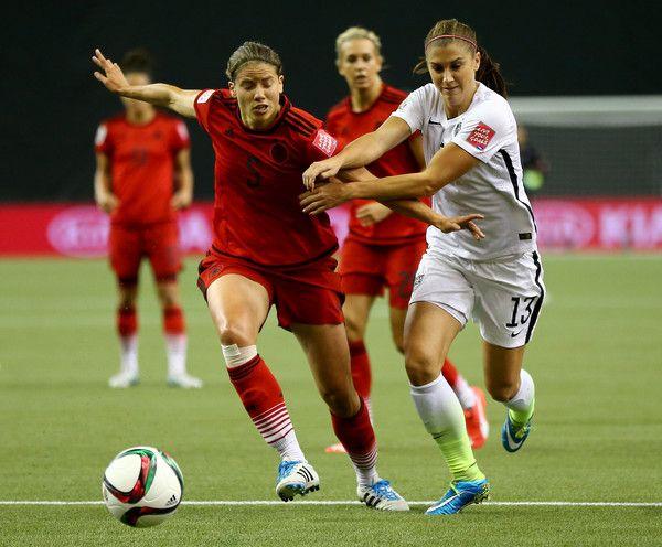 Alex Morgan Photos - USA v Germany: Semi-Final - FIFA Women's World Cup 2015 - Zimbio