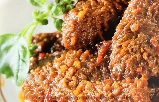 Hot Indonesia Recipes - Babat Gongso