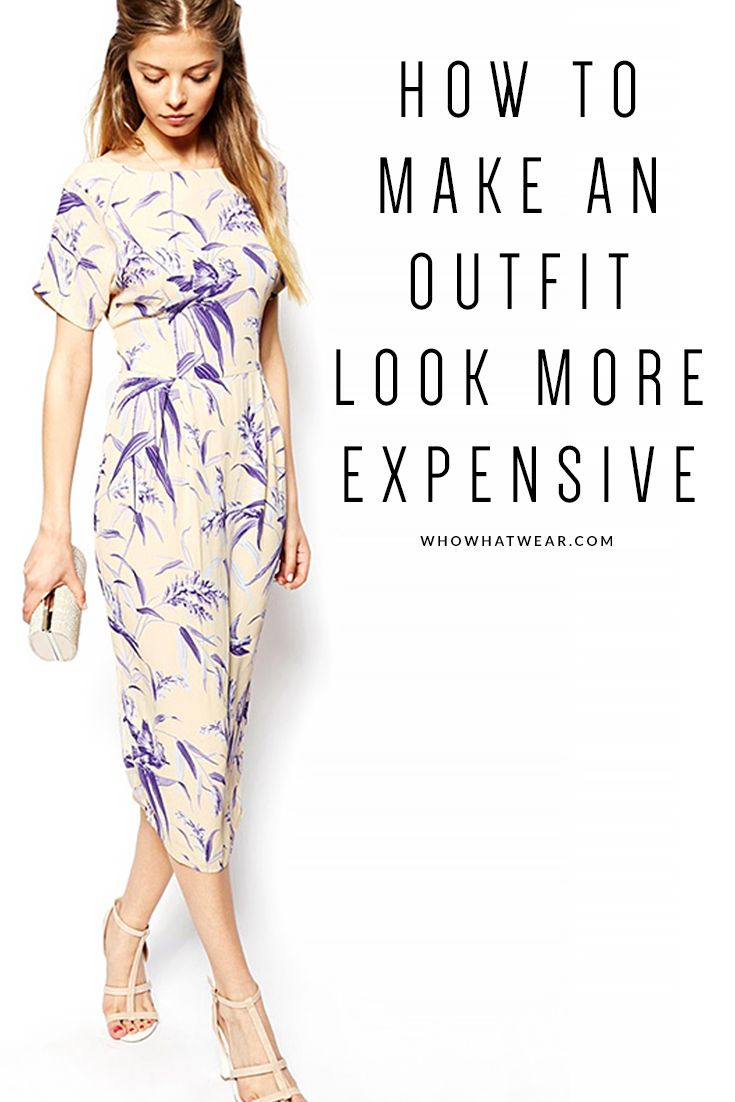 Easy styling tricks to make your clothes look more expensive than they are