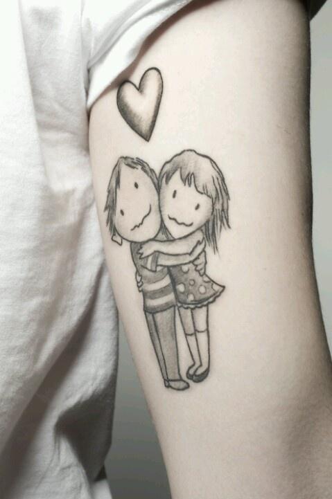 Shel Silverstein tattoo..Hug o War...LOVE! -Allie J