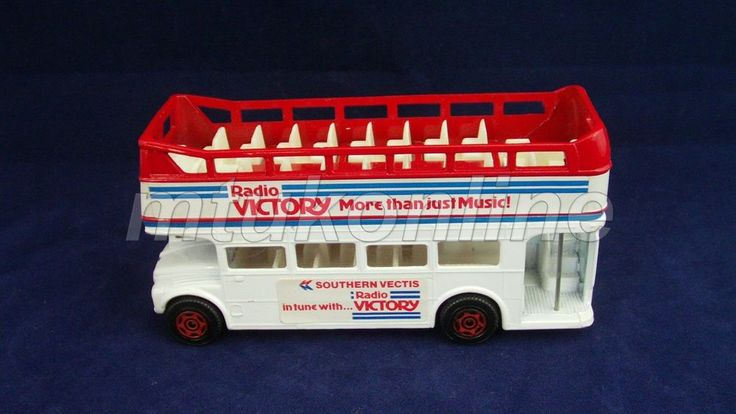 CORGI DOUBLE DECKER BUS | MADE IN GB | RADIO VICTORY MORE THAN JUST MUSIC