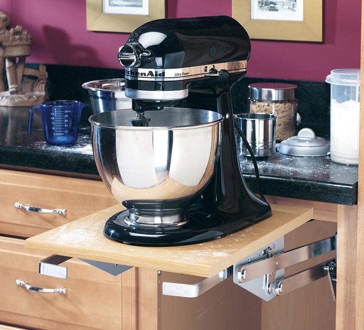 Heavy Duty Mixer liftDuty Mixer, Dreams Kitchens, Kitchens Aid Mixer, Mixer Lifting, Rev A Shelf, Storage Ideas, Kitchens Cabinets, Home Improvements, Heavy Duty