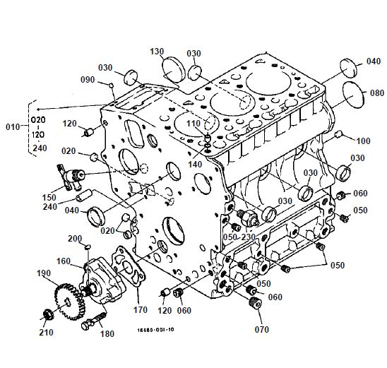 Kubota G1800 Tractor Parts List Manual