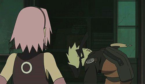 Naruto's rape face...