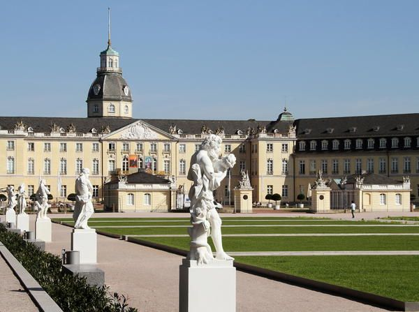 Schloss Karlsruhe, I had a beer there :)