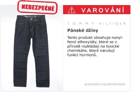 Tommy Hilfiger džíny   #Detox #Fashion