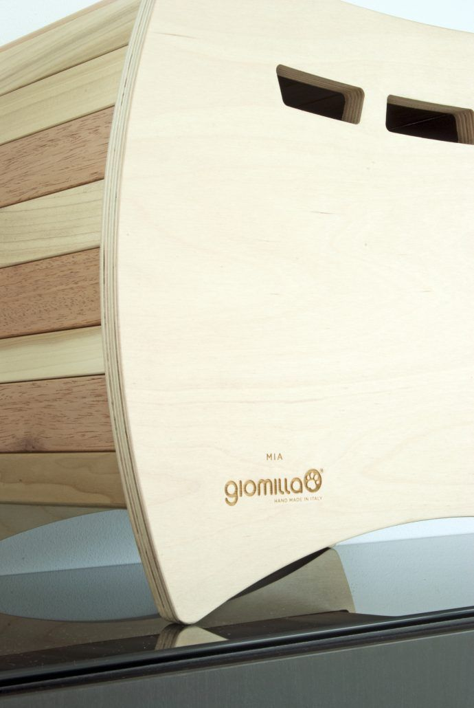 Giomilla: comfortable houses for your pet, and special pieces of  design furniture in your home (hand made in italy).