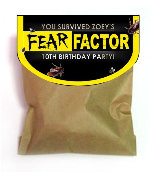 The best in fear factor birthday party games to help you throw an awesome Fear Factor Theme Party!!
