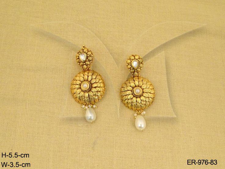 ER-976Mo-83  || #l4l #f4f #r4r #costumejewellery #quality #Rajasthan #Rajasthani #Ajmer #Ajmeri  #Jaipur #Jaipuri #Muslim #royaljewellery #uncutpolki #adjustablejewellery #Glamourous  #Bridal #Engagement #Wedding #Jewellery #Style #Accessories #Fashion #Bollywood #Traditional #Indian #Delicate #Dress #Saree #Lehanga #Women #Punjabi_Suit