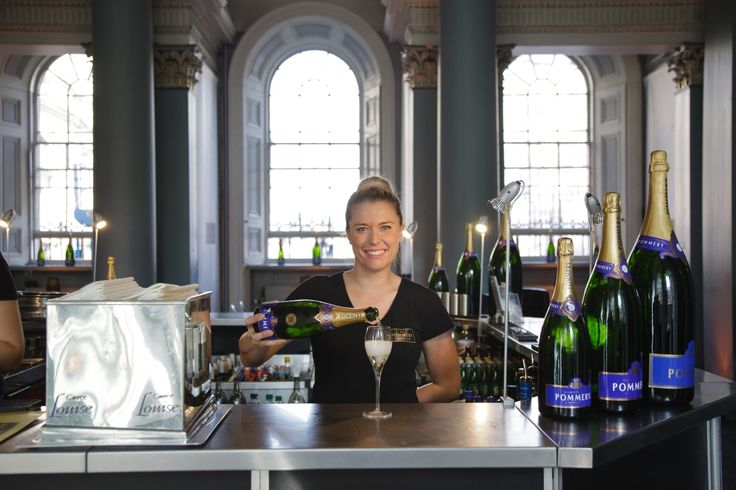There is no better place to pop in for a glass of perfectly chilled Pommery Champagne! Visit us at the Signet Library