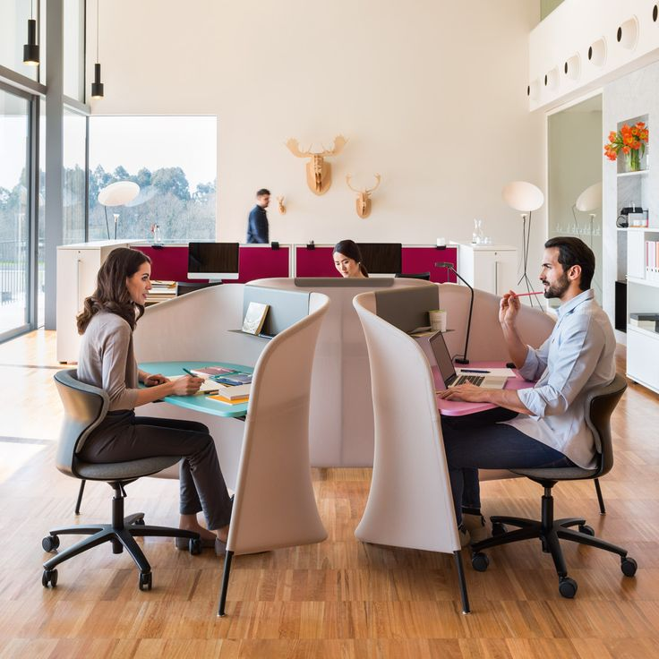 Secretair Privacy Desk is a agile office furniture solution catering to hotdesking and giving staff the space to break away from their teams to get some work done.