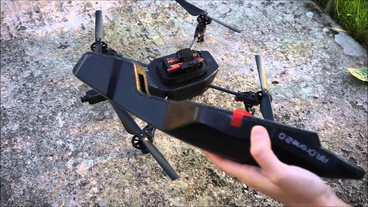 nice Parrot AR. Drone 2.0 Take off + Landing