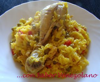 Arroz con Pollo // Cocinamos con Sabor Venezolano
