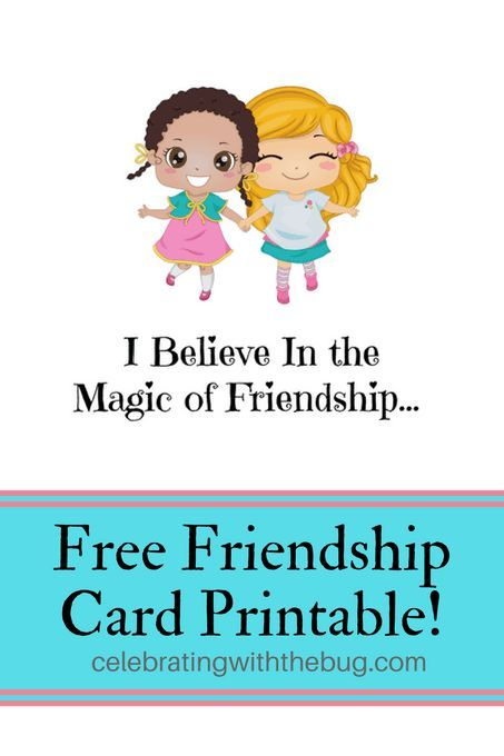 Printable Friendship Cards Architecture Modern Idea
