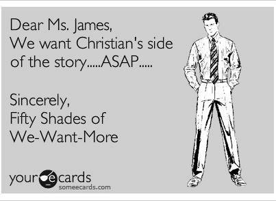 Fifty: Worth Reading, Fifty Shades Of Grey, Fiftyshades, Christian Grey, 50 Shades, Books Worth, 50Shades, Christian S Side