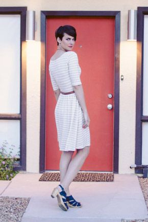 Moneta dress by Colette Patterns #sewing