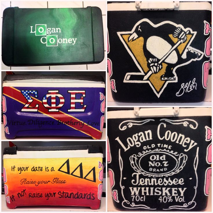 Sigma Phi Epsilon cooler for my boyfriend!