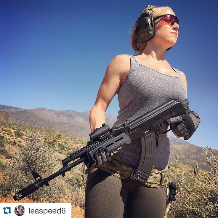 Who doesn't love girls with guns? These ladies are both badass and beautiful. Have a wonderful woman in your life? Get her started on an AR build today. Check out www.80-lower.com for all your AR part needs.